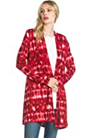 Women'S Rayon Span Various Styles of Comfortable Basic Cardigan - Solid & Prints