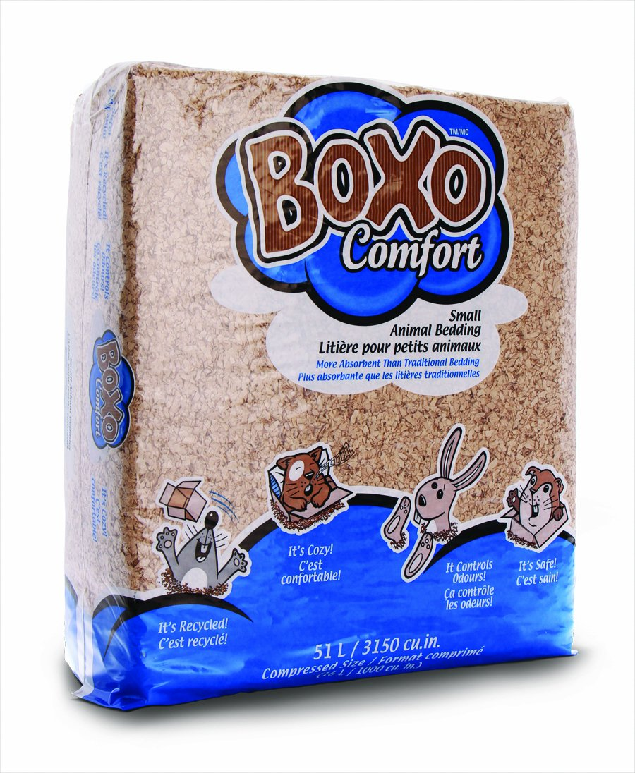 Boxo Comfort Small Animal Bedding, 51-Liter PESTELL PET PRODUCTS 51L