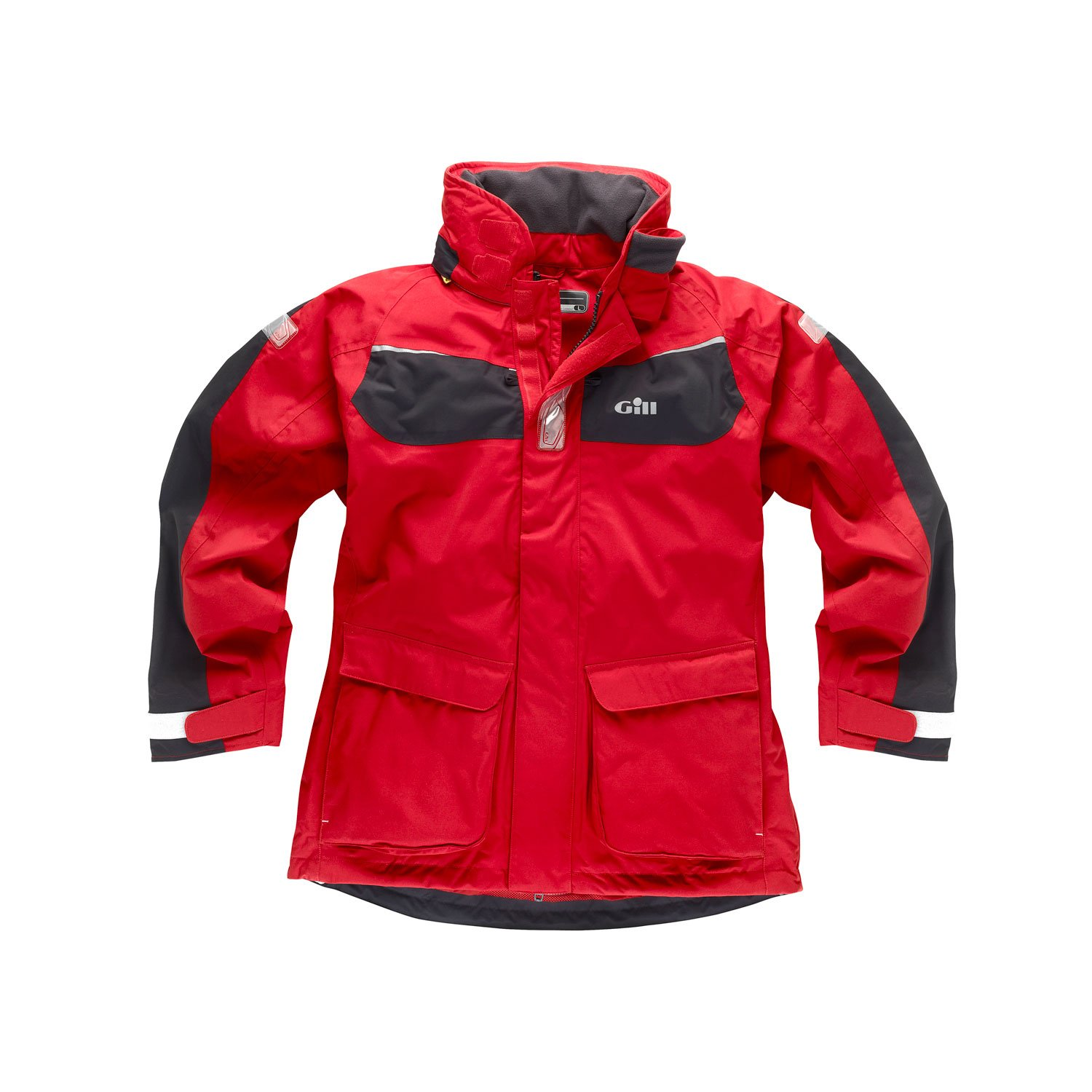 Gill IN12J Coast Jacket (Red/Graphite, M) IN12JRM by Gill