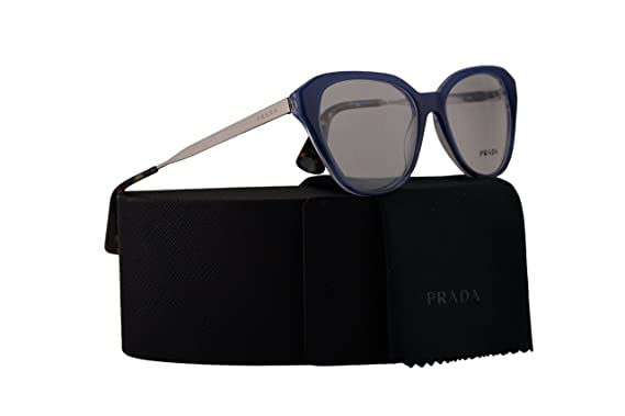 95d0bfcd34 Amazon.com  Prada PR28SV Eyeglasses 52-16-140 Blue Gradient w Demo ...