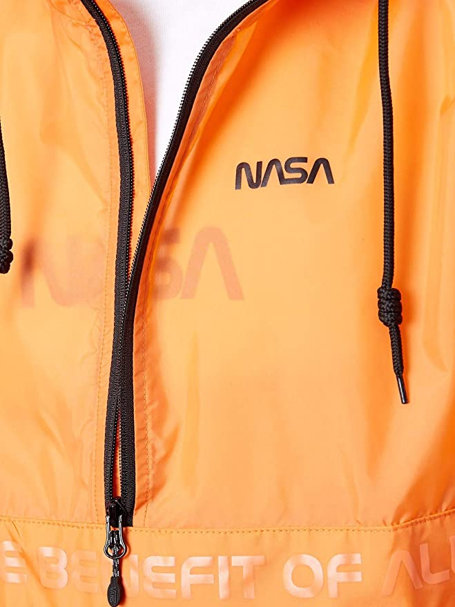 1a8e43516 Vans Space Orange Anorak - NASA Collaboration Jacket: Vans: Amazon ...