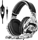 [SADES 2017 Multi-Platform New Xbox one PS4 Gaming Headset ], SA810 Gaming Headsets Headphones For New Xbox one/ PS4/PC/Laptop /Mac/iPad /iPod (Black&Camouflage)