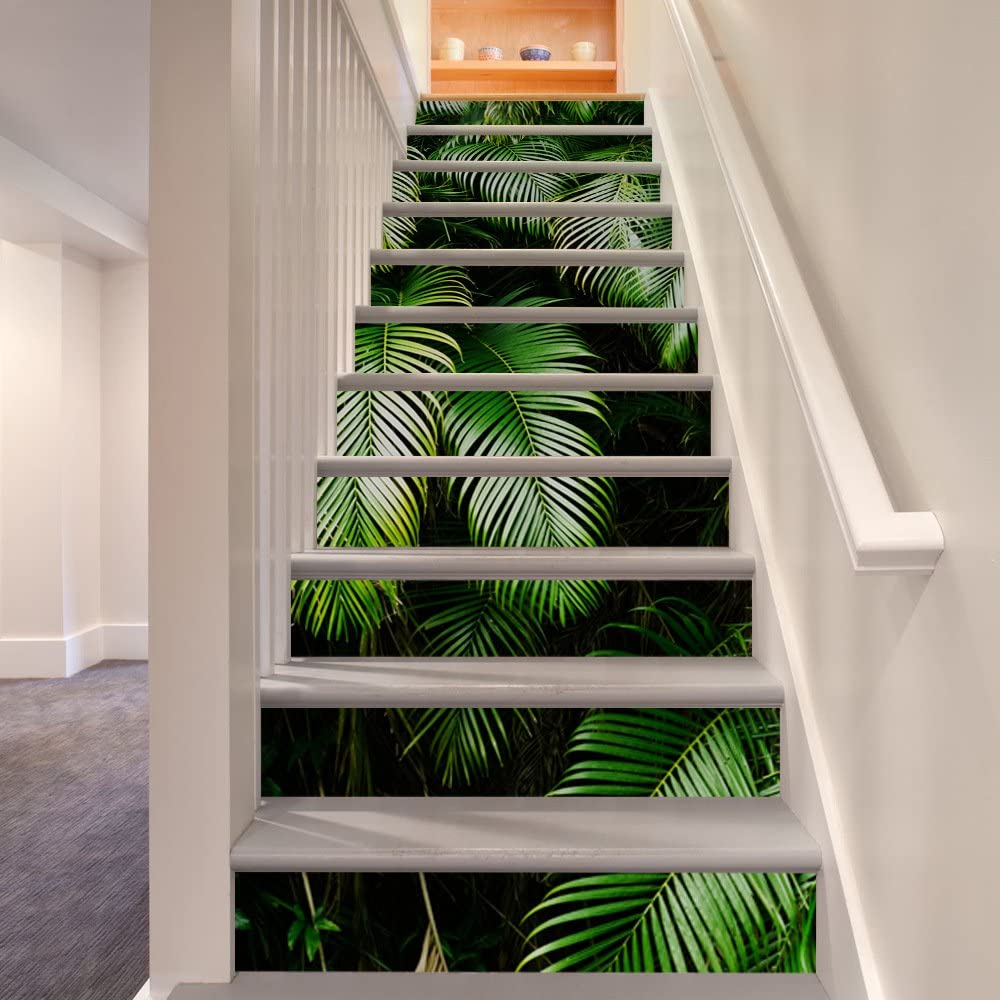 Details about  /3D Color Waves 2 Stair Risers Decoration Photo Mural Vinyl Decal Wallpaper UK