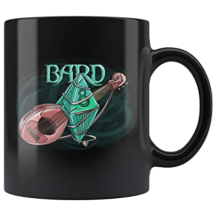Amazon com: Bard Dice D8 DND Mug - Critical Rage D&D RPG Coffee Cup