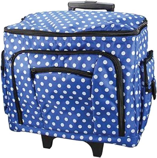 Sewing-Online Bolsa de Máquina de Coser de Punto Azul 47 x 38 x ...
