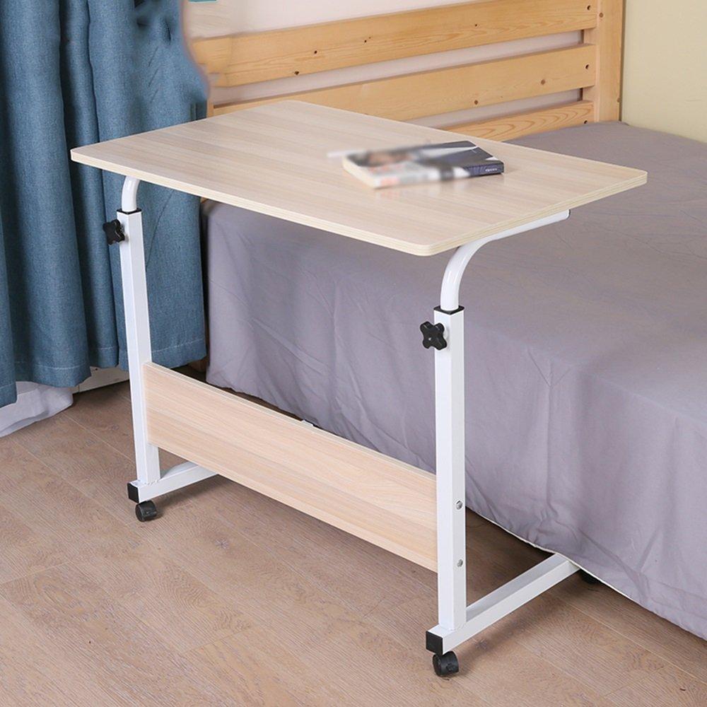 XIA 折り畳みテーブル コンピュータデスクワーキングテーブルデスクベッドサイドスモールテーブルレイジーテーブルリムーバブルサイズの組み立てが簡単便利なオプション ( サイズ さいず : 60*40cm ) B07C9SJCNS60*40cm