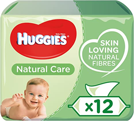 Wipes 1Pack Baby Wipes Natural Care with Aloe Vera by Huggies for Kids 56 Pc