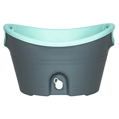 Igloo Insulated Party Bucket, 20 quart/18.9 L, Charcoal Seafoam Green/Translucent