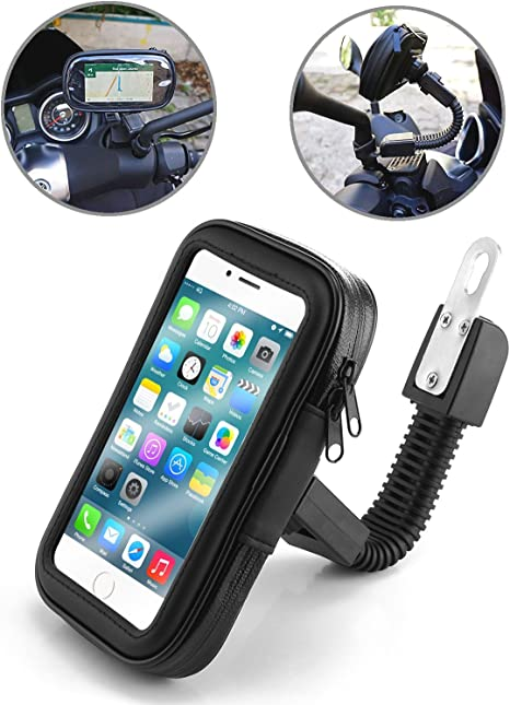 TecHERE BikeCase - Soporte Universal Movil Impermeable para Moto Motocicleta Scooter Escúter Vespa: Amazon.es ...