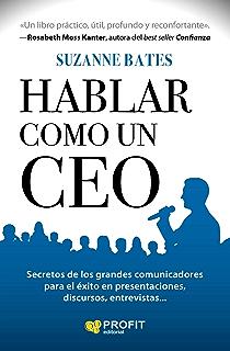 Hablar como un CEO (Spanish Edition)
