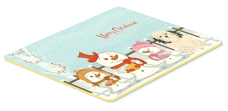 24 x 36 Carolines Treasures BB2350JCMT Merry Christmas Carolers Lowchen Kitchen or Bath Mat Multicolor