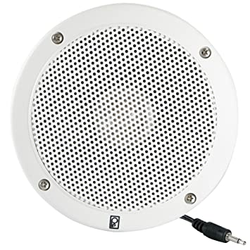 Amazon Com Poly Planar External Speaker 6 Round White