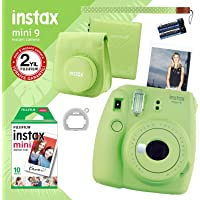 instax mini 9 Yeşil Fotoğraf Makinesi ve Hediye Seti 2
