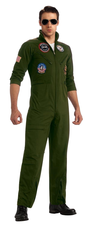 Rubie's Top Gun Flieger Kostüm mit Brille, Größe:S