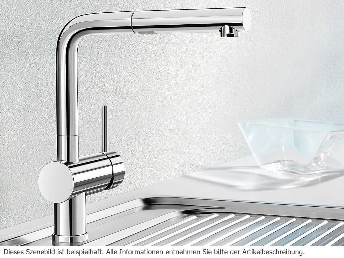 Blanco Linus-S Vario, Küchenarmatur - Einhebelmischer mit ...