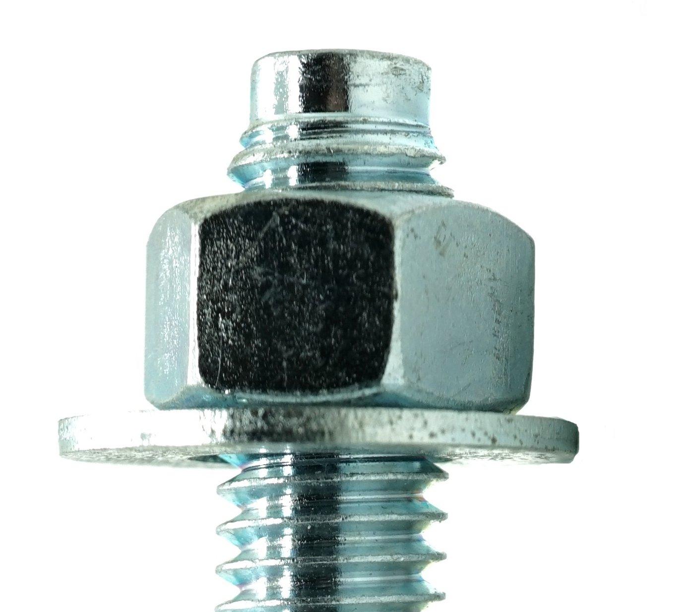 Red Head WS-1244 Trubolt Carbon Steel Wedge 1//2-Inch by 4-1//2-Inch Anchor 25 per Box