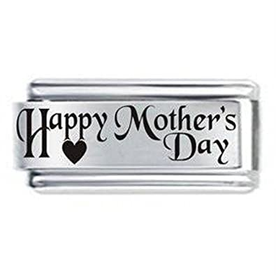 Mothers Day Superlink Italian Charm - Fits Nomination  Amazon.co.uk   Jewellery cafab828a