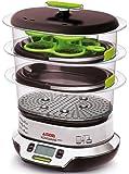 Seb VS404300 Cuiseur Vapeur Vitacuisine Compact 0% BPA