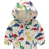 Evelin LEE Baby Jacket Outwear Floral Zipper Spring Autumn Windproof Hooded Coat