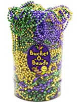 Forum Novelties Inc. 58933 Mardi Gras Bead Necklaces - Pail Of 72