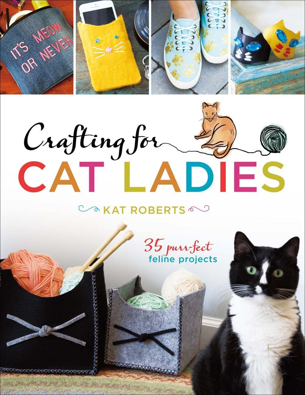 Read Online Crafting for Cat Ladies: 35 Purr-fect Feline Projects ebook