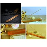 TrendBox 10pcs Handmade Plain Wood Wooden Incense