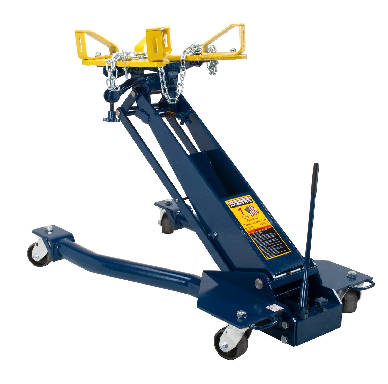 Amazon.com: Hein-Werner HW93718 Blue Floor Transmission Jack - 1 Ton  Capacity: Automotive