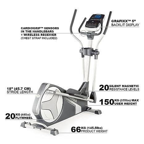 Nordic Track NORDICTRACK - Bicicleta Elíptica E 9.2: Amazon.es: Deportes y aire libre