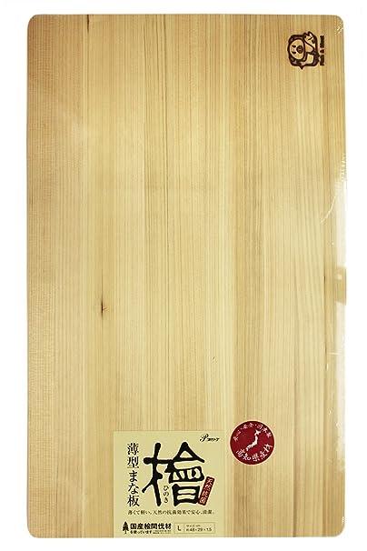 池川木材 まな板 ひのき L
