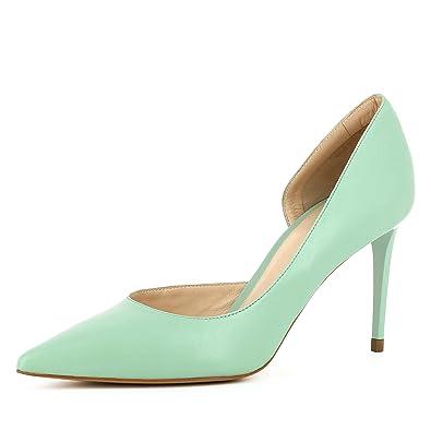 Jessica Damen Pumps halboffen Glattleder Mint 39 Evita Shoes Shop Online-Verkauf Billig Verkauf Beste Preise Freies Verschiffen Günstigsten Preis Großer Rabatt CKaHTv3J