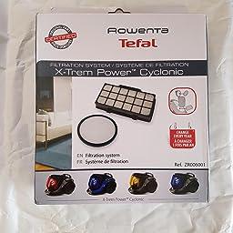 Rowenta zr006001 Juego de filtros para X -Trem Power Cyclonic ...