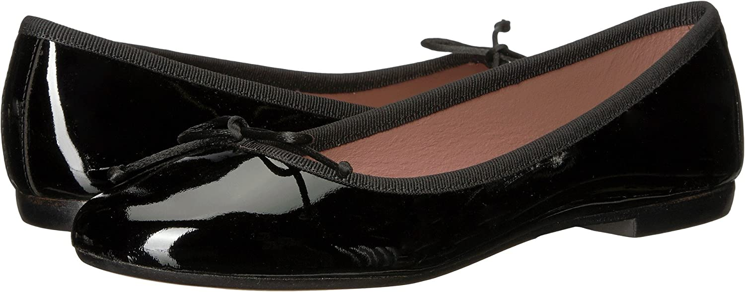 White Mountain Summit Kendrick Women's Flat B077MCJH2N 37 M EU|Black Patent
