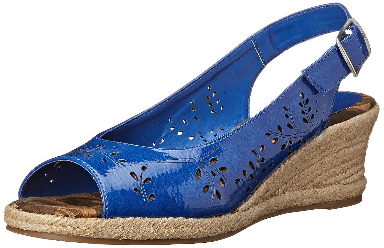 Easy Street Women's Sedona Wedge Sandal B00NTNAQUY 12 C/D US Cobalt