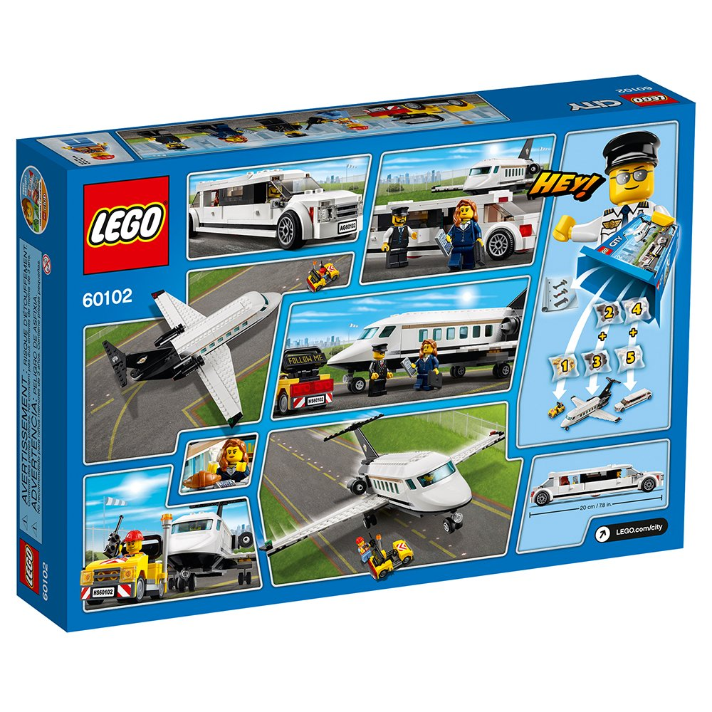 LEGO City Airport VIP Service 60102 Building Toy 6135727