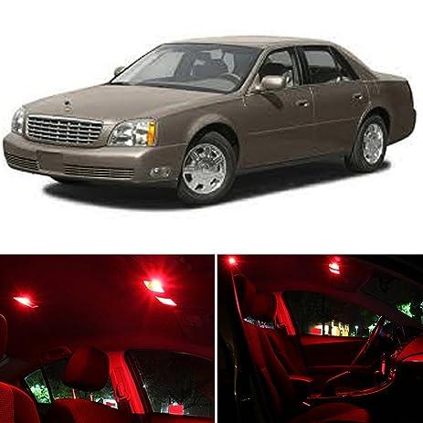 Amazon Com Ledpartsnow Cadillac Deville 2000 2005 Red Premium Led