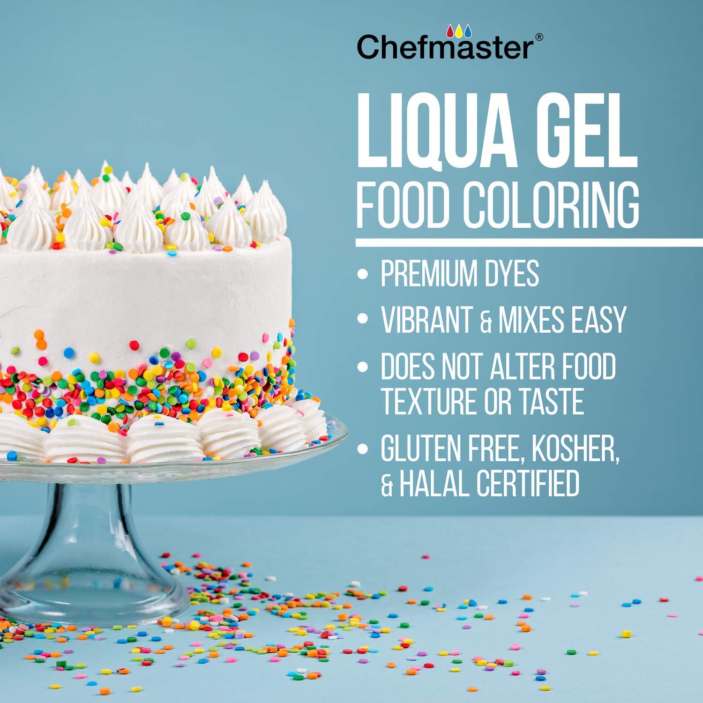 Chefmaster Liqua-gel Variety Pack by Chefmaster (Image #3)