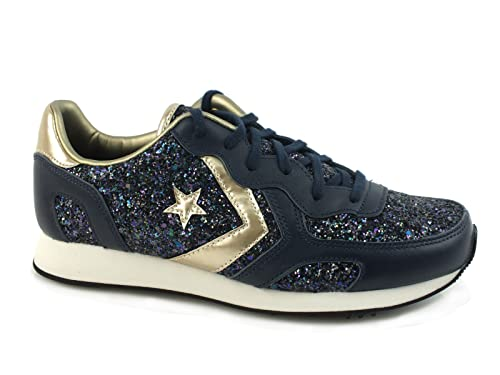Converse Auckland Racer Ox Sneaker Donna 555082C BLACK IRIS/OBSIDIAN/