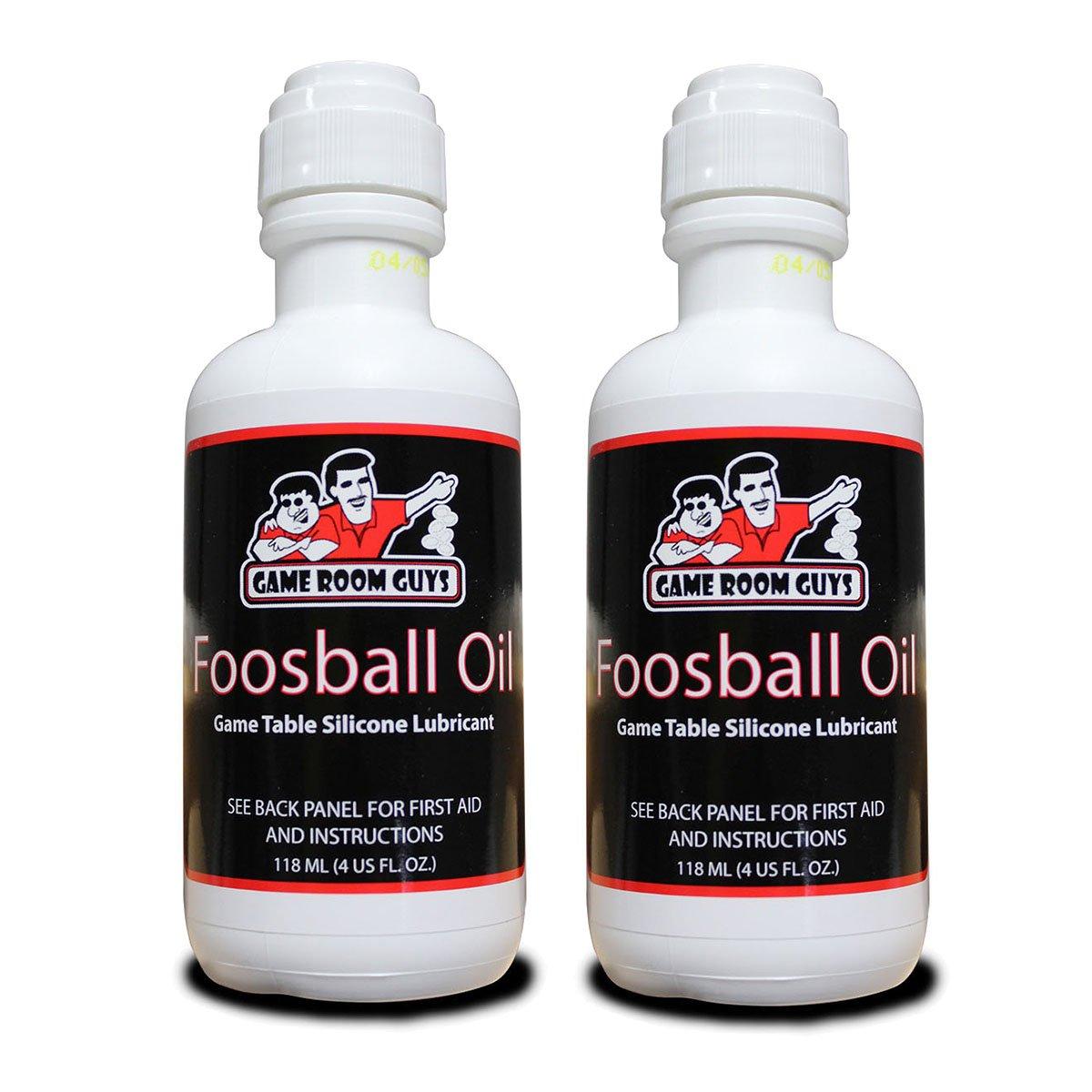 Game Room Guys Pkg of 2-4 oz Bottles Foosball Oil