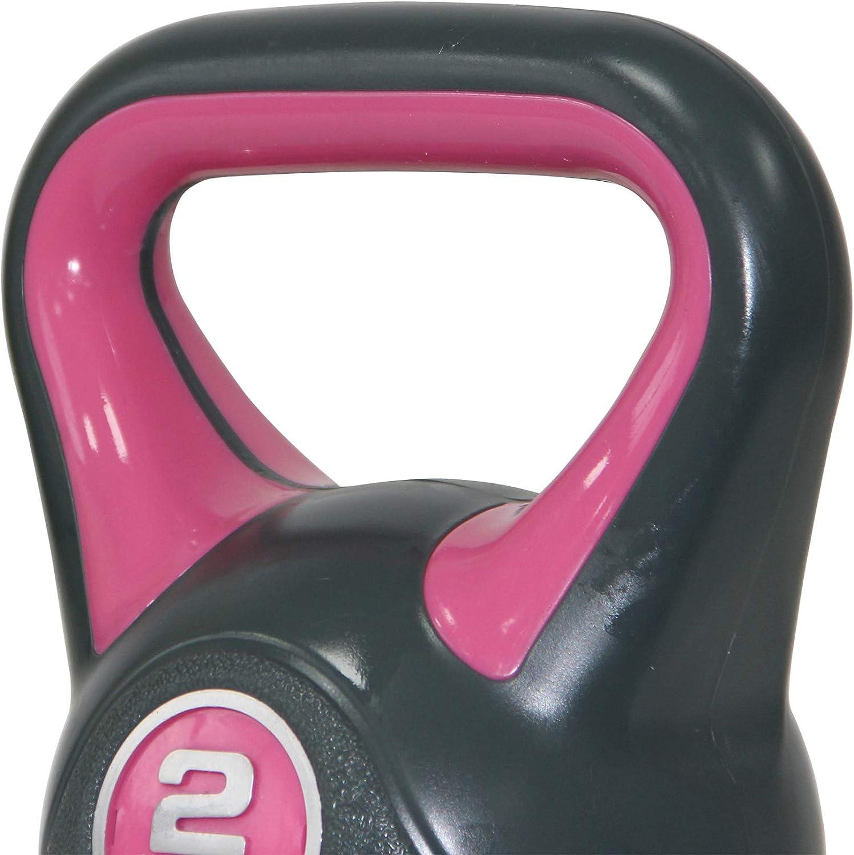 Base avec caoutchoucs antid/érapants et poign/ée antid/érapante POWRX Kettlebell 2-20 kg Affiche d/´entra/înement PDF Id/éal pour Les Exercices de /«Functional Fitness/»