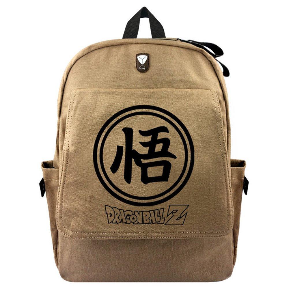 YOYOSHome Japanese Anime Cartoon Cosplay Bookbag Rucksack Daypack Backpack School Bag (Dragon Ball Z 1)