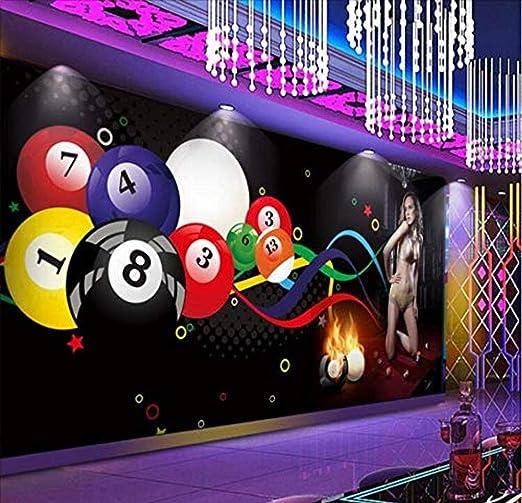 Papel tapiz mural Papel tapiz Mural Personalizado 3D Bola de ...