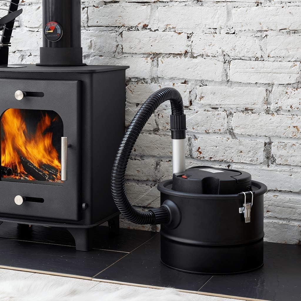 Valiant 2 aspas ventilador de estufa y chimenea ceniza Vac Twin Pack: Amazon.es: Bricolaje y herramientas
