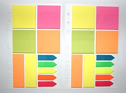 amazon com sticky notes pad twin pack assorted shapes 25 per