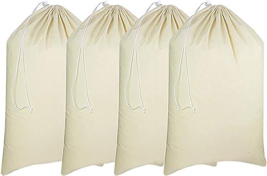 Multi-size Cotton Stuff Storage Drawstring Bag Laundry Toys Tidy cotton Craft