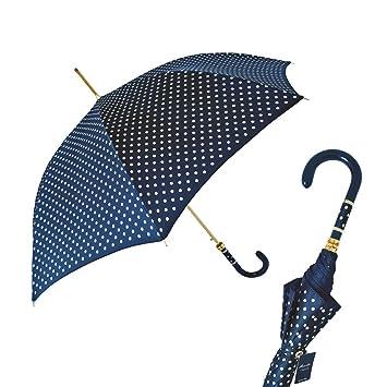 Pasotti azul marino de lunares, paraguas: Amazon.es: Electrónica