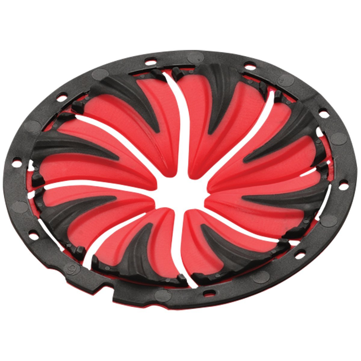 Dye Precision Rotor Loader Quick Feed - Black/Red by Dye