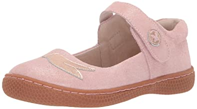 c55a92def79 Livie   Luca PIO PIO Leather Mary Jane Flat Shoes