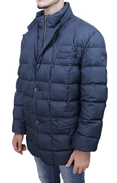 free shipping c62b0 54133 Fay Piumino uomo Original blu invernale giaccone elegante ...