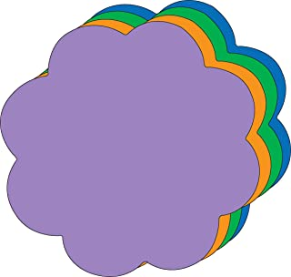 """product image for 8"""" x 10"""" Flower Assorted Color Super Cut-Outs, 15 Cut-Outs in a Pack for Spring, Summer Flower Garden Kids' School Craft Projects"""