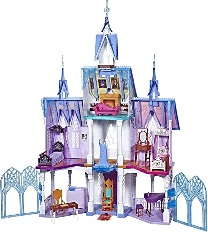 Disney Frozen 2 Pop Adventures Arendelle Castle Playset With Handle Kid Toy Gift